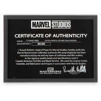 Image of Black Panther T'Chaka's Ring - Marvel Masterworks Collection Authentic Film Prop Duplicate - Limited Edition # 10