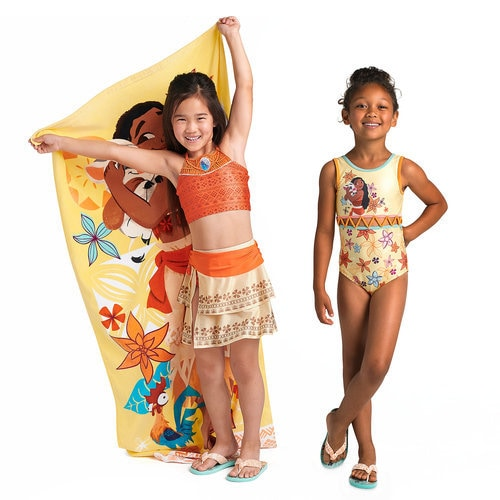 Moana Swim Collection for Girls