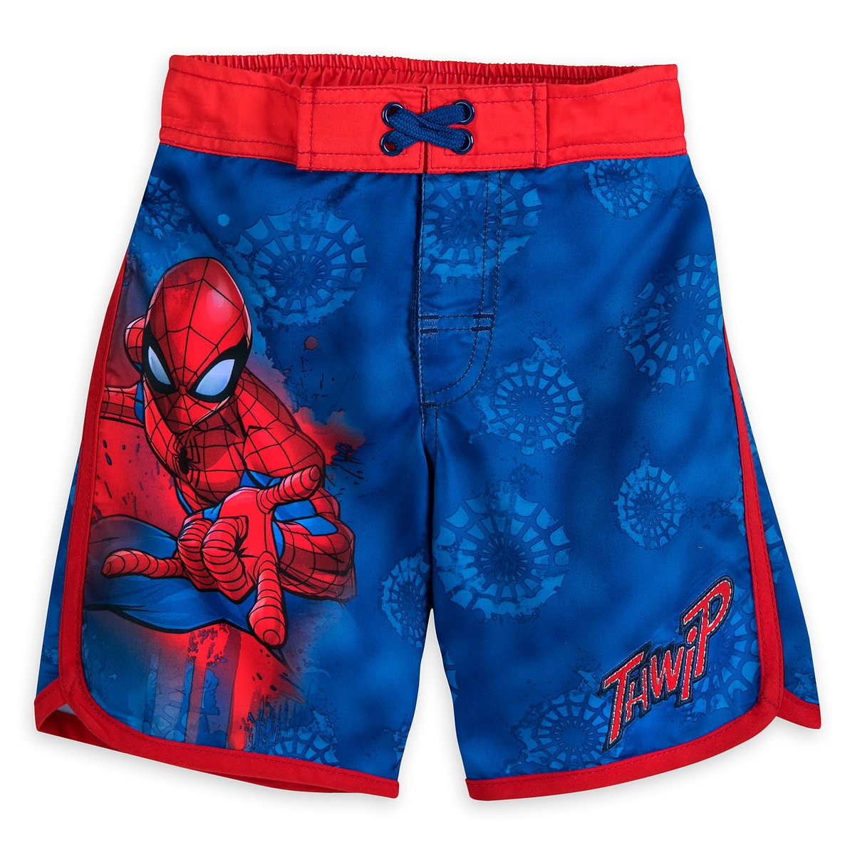 b55a6500b12bb Product Image of Spider-Man Swim Trunks for Boys # 1