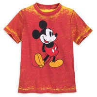 Image of Mickey Mouse Burnout T-Shirt for Kids # 1