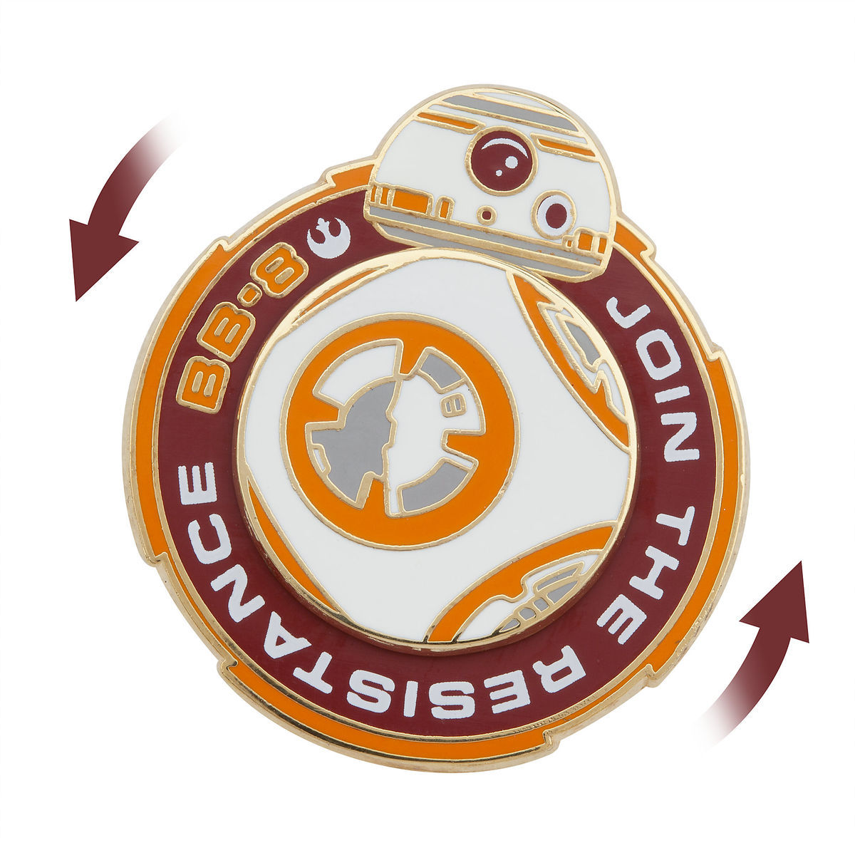 6b41b927ea1 Product Image of BB-8 Spinner Pin - Star Wars  The Force Awakens