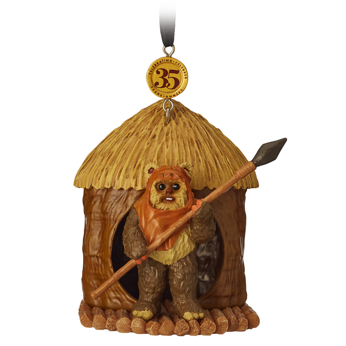 03d6007a6 Product Image of Wicket Legacy Sketchbook Ornament - Star Wars  Return of  the Jedi -