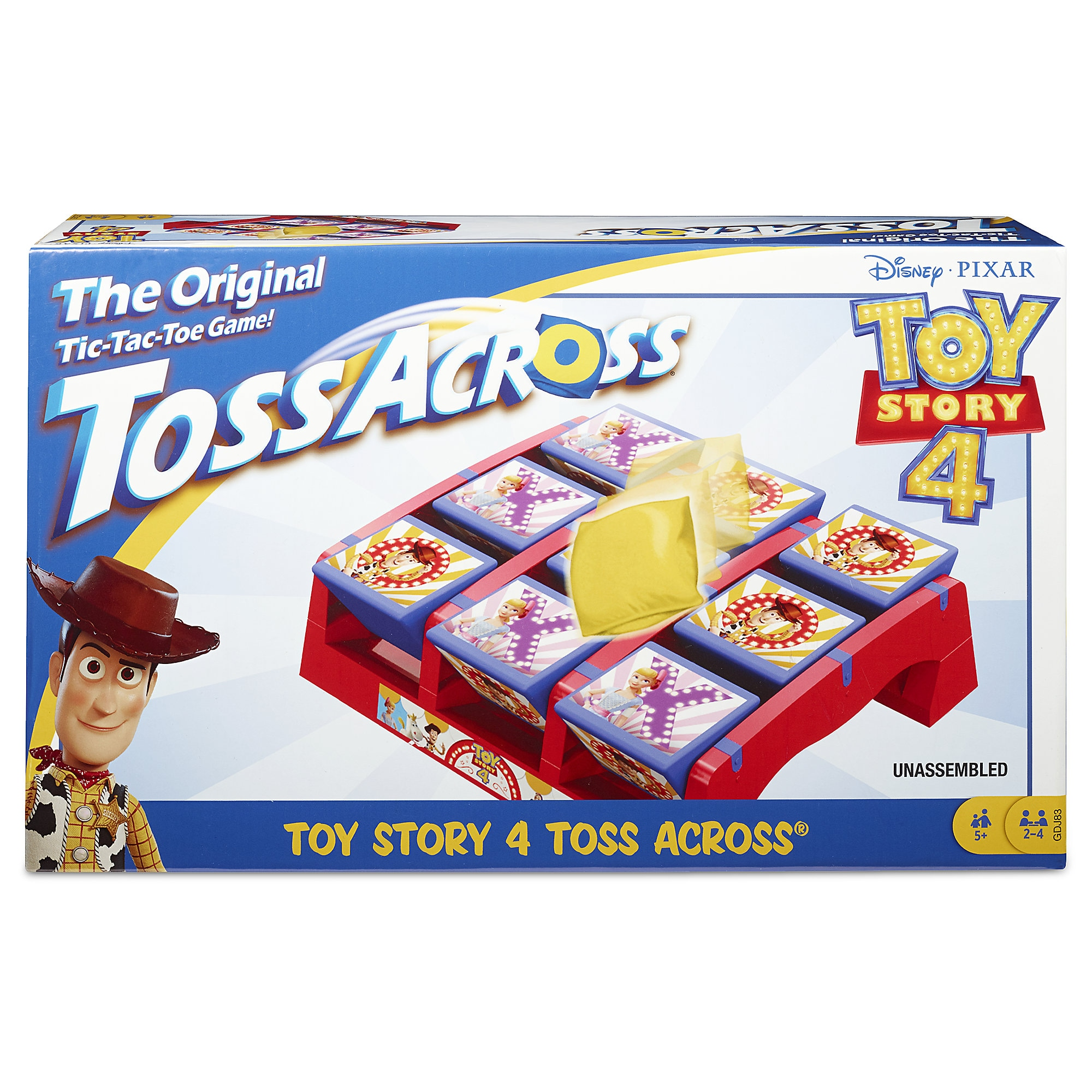 Toy Story 4 Toss Across Game is now available