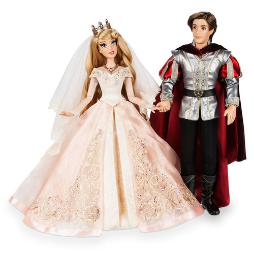 Naviblue 2019 Wedding Dresses Dolly Collection: Aurora And Prince Phillip Limited Edition Wedding Doll Set