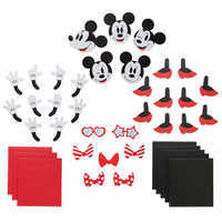 Image of Minnie Mouse Gift Wrap Set # 2