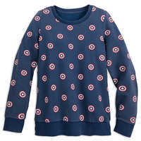 Image of Captain America Sweatshirt for Women by Her Universe # 1