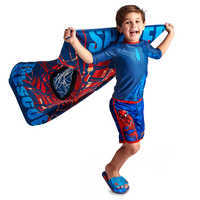 Image of Spider-Man Rash Guard for Boys # 2