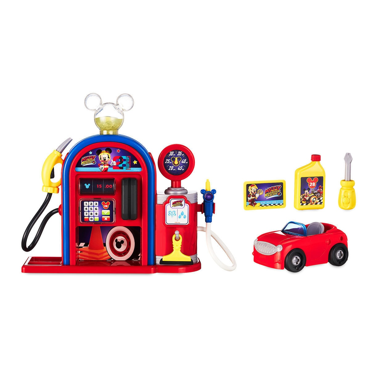 5a4ef40e8719 Mickey and the Roadster Racers Gas Station Playset