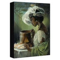 Image of Tiana ''Dig a Little Deeper'' Giclée on Canvas by Heather Edwards # 1