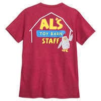 Image of Al's Toy Barn Staff T-Shirt for Men - Toy Story # 3