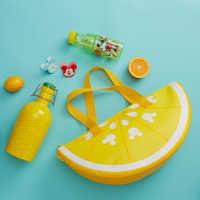 Image of Mickey Mouse Lemon Wedge Cooler Bag - Summer Fun # 3