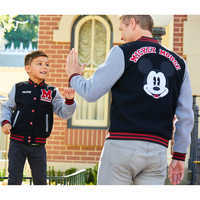 Image of Mickey Mouse Letterman Jacket for Adults # 7