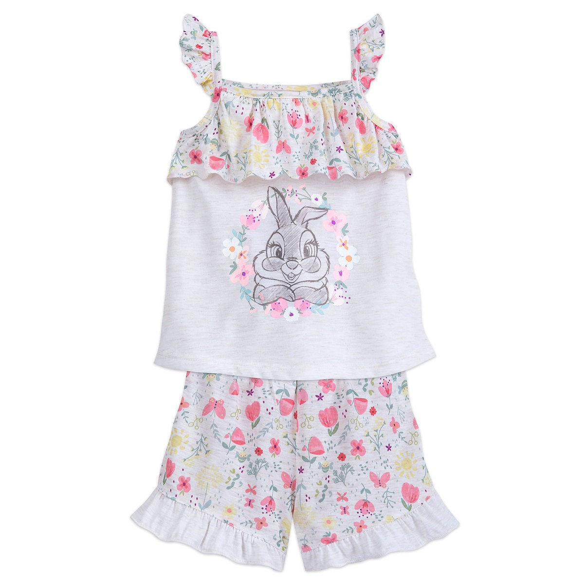 340ef5a65 Product Image of Miss Bunny Pajama Set for Girls # 1