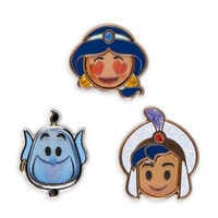Image of Aladdin Disney Emoji Mini Pin Set # 2