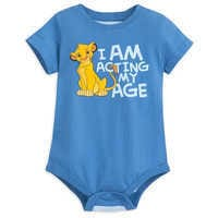 Image of Simba Bodysuit for Baby - The Lion King # 1
