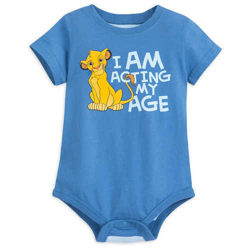 Disney Simba Bodysuit for Baby - The Lion King