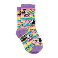 디즈니 미키마우스 삭스 Disney Mickey and Minnie Mouse Crew Socks for Girls