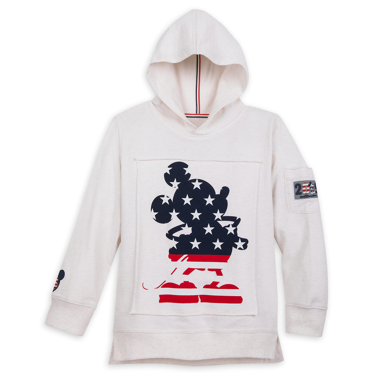 23e83147e1d6 Product Image of Mickey Mouse Americana Pullover Hoodie for Boys - Walt  Disney World 2019 #
