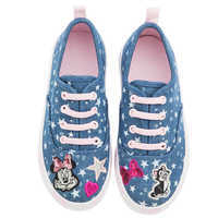 Image of Minnie Mouse Denim Sneakers for Kids # 2