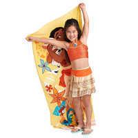 Image of Moana Deluxe Swimsuit Set for Girls # 2