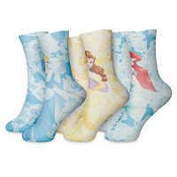 Image of Disney Princess Socks for Kids - 3-Pack # 1