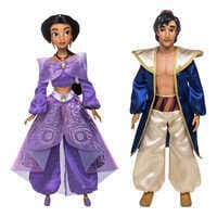 디즈니 알라딘 노래하는 인형 Disney Aladdin and Jasmine Singing Duet Doll Set