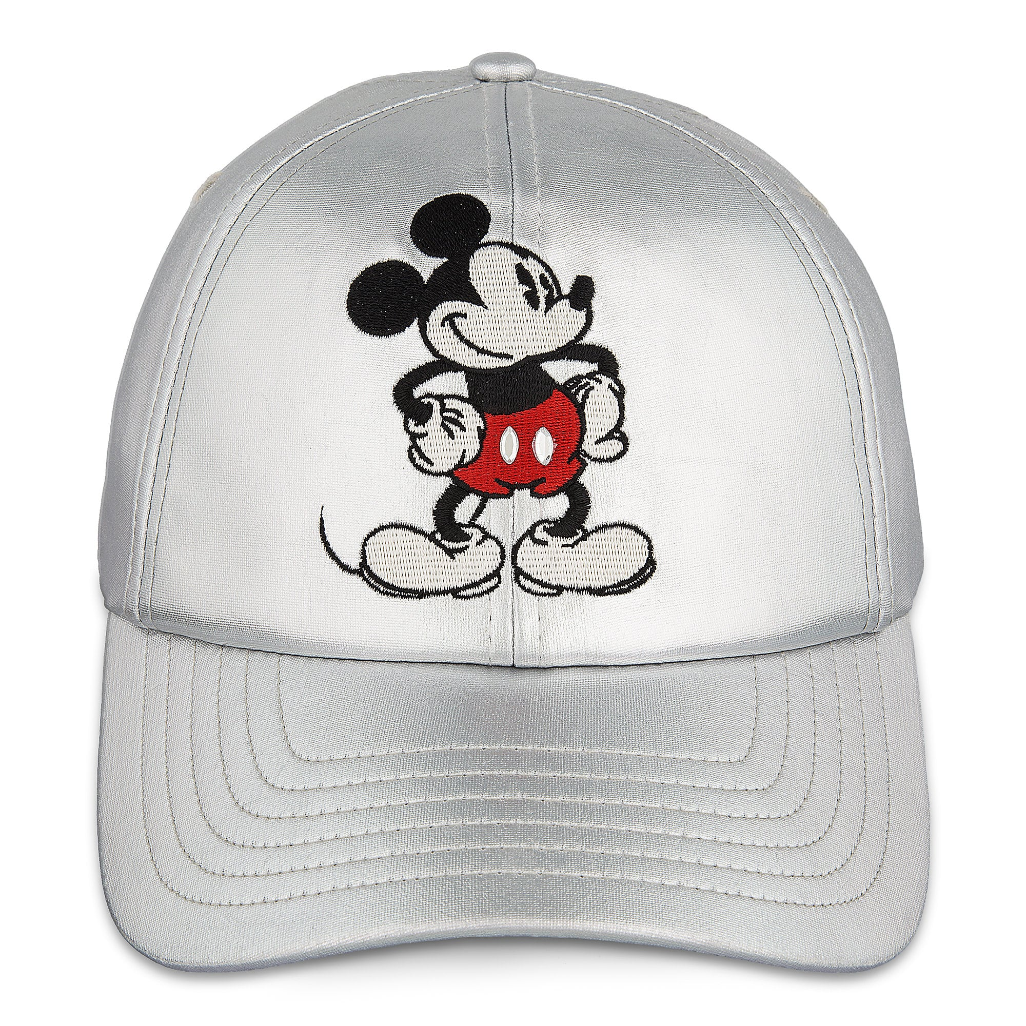 c8444ef3b92 Mickey Mouse Timeless Silver Baseball Hat for Women