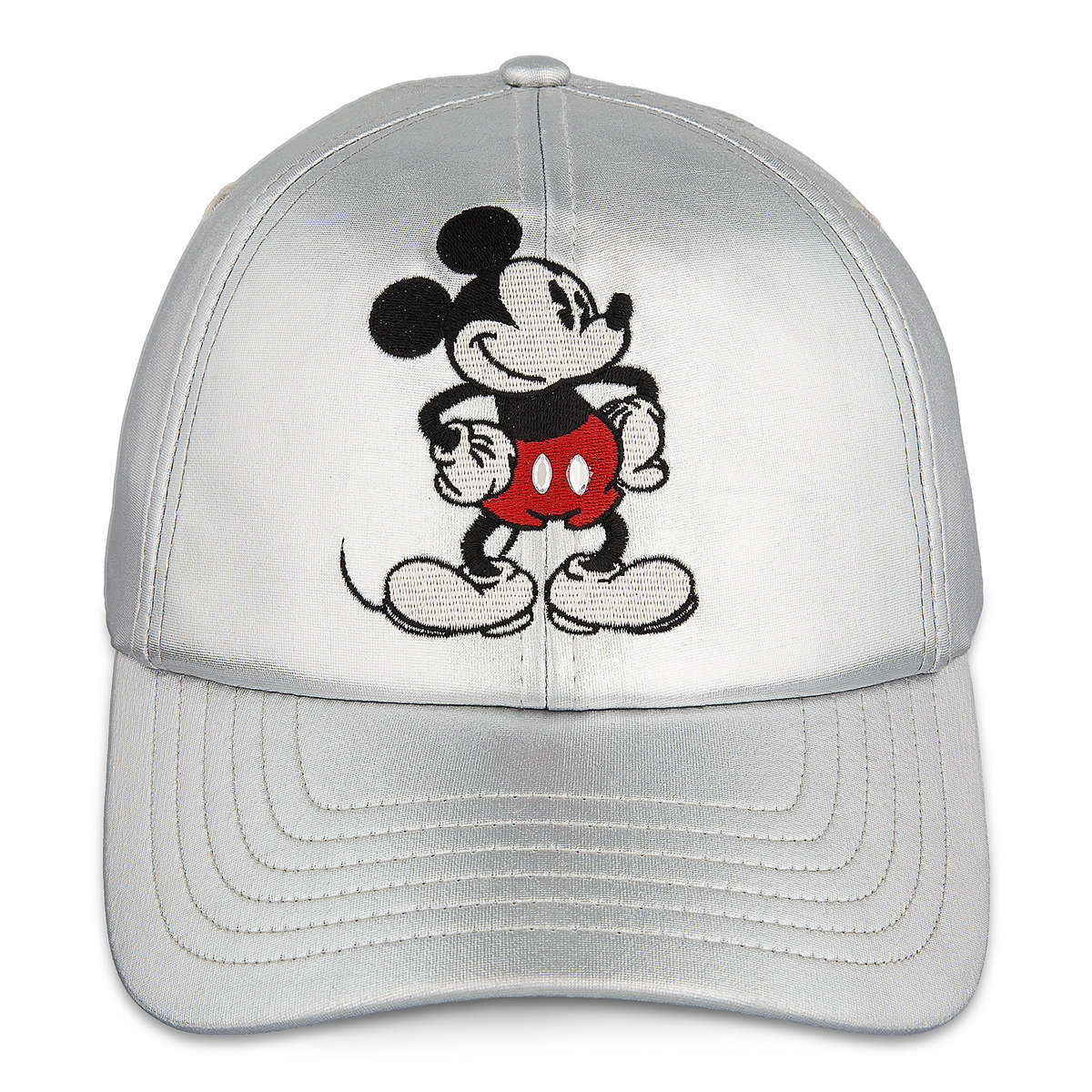 e5ba36dc Product Image of Mickey Mouse Timeless Silver Baseball Hat for Women # 1