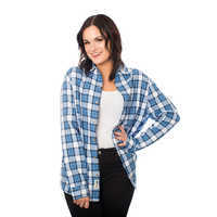 Image of Belle Flannel Shirt for Adults by Cakeworthy # 2