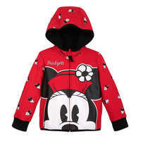 Image of Minnie Mouse Zip-Up Hoodie for Kids - Personalized # 1