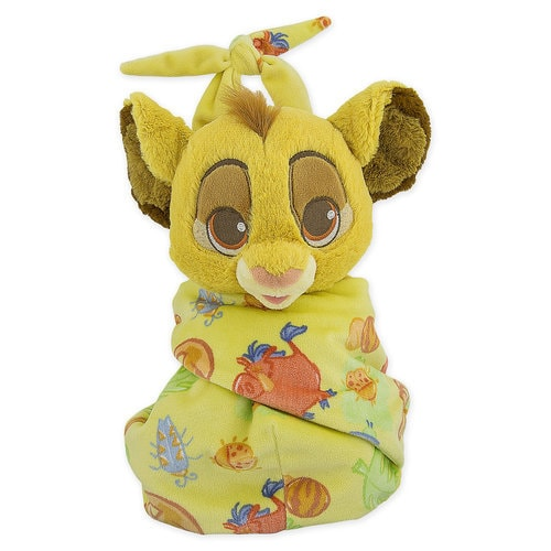 Simba Plush in Pouch - Disney Babies - Small