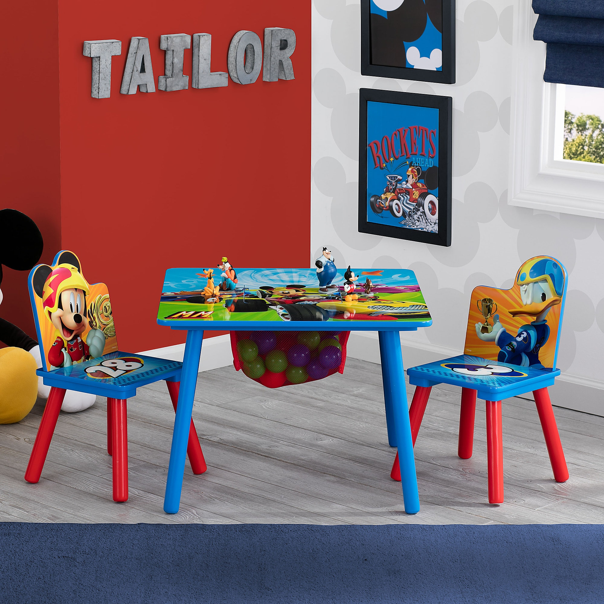 Mickey Mouse Table and Chair Set with Storage & Mickey Mouse Table and Chair Set with Storage | shopDisney
