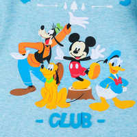 Image of Mickey Mouse and Friends Stretchie for Baby # 2