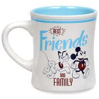Image of Mickey Mouse and Pluto ''Best Friends and Family'' Mug # 1