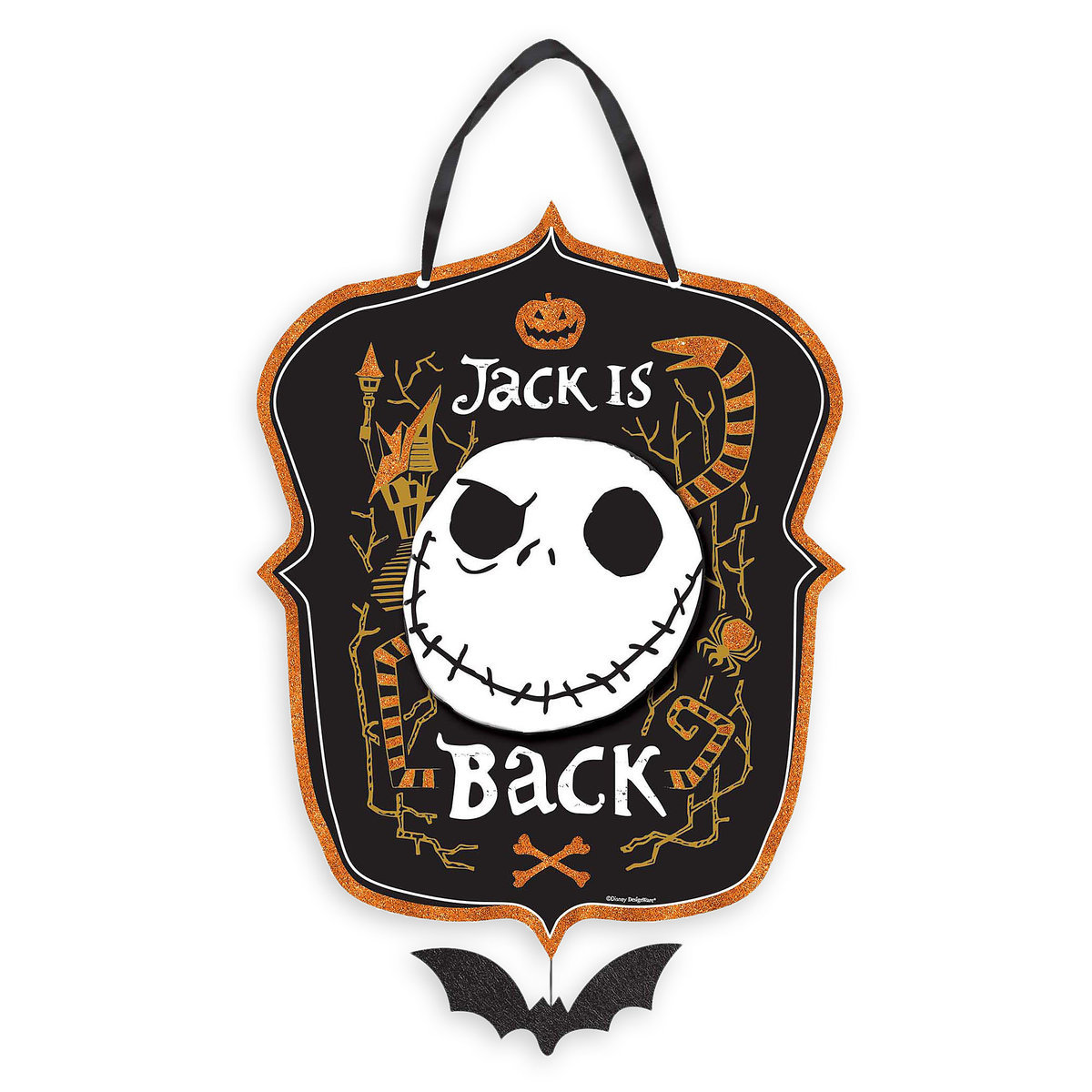 b66cc37dd5570 Product Image of Jack Skellington Sign - The Nightmare Before Christmas   1