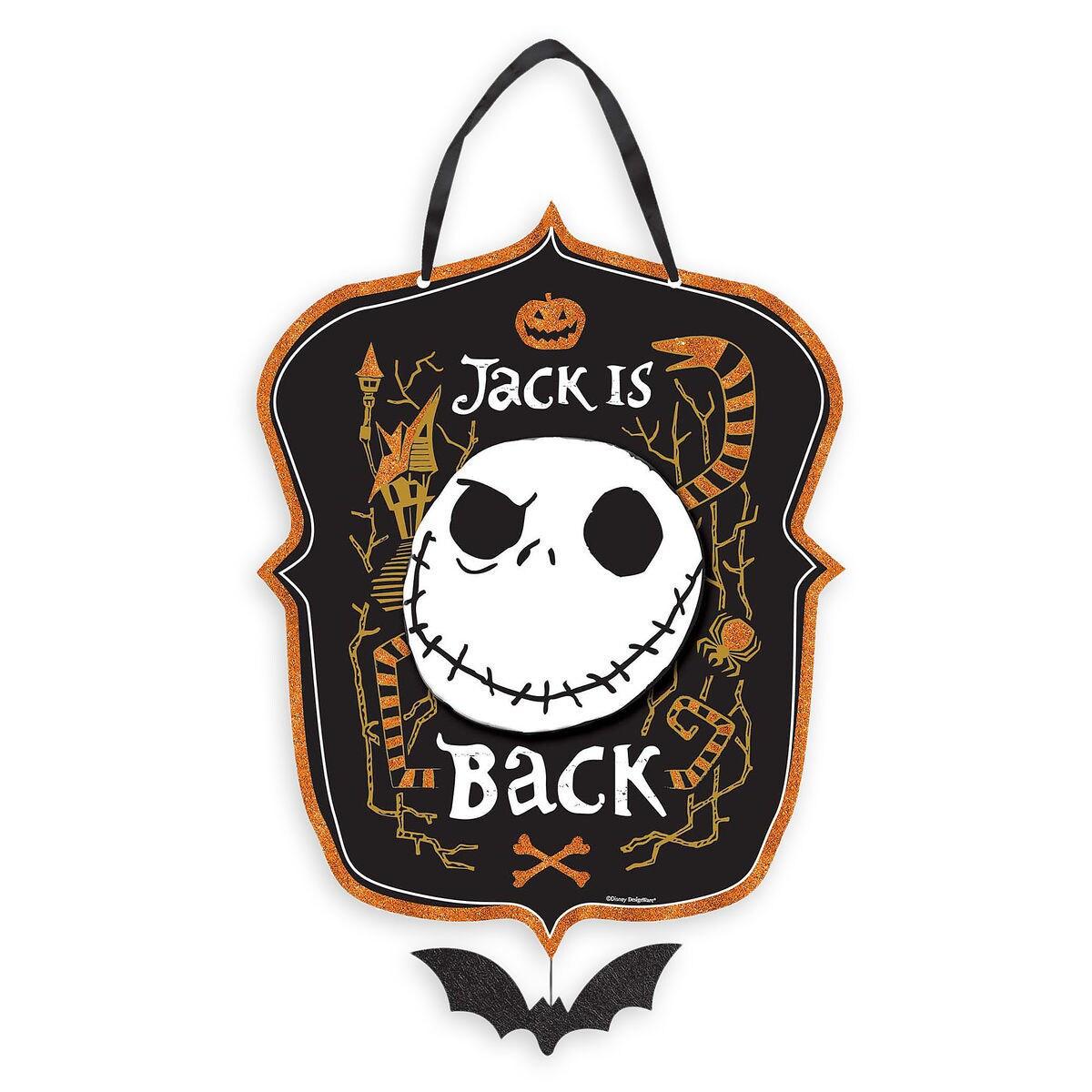 Jack Skellington Sign - The Nightmare Before Christmas | shopDisney
