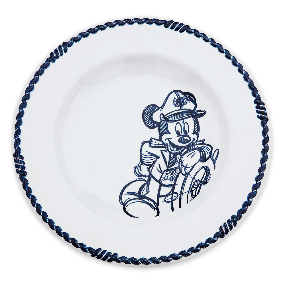 Disney Cruise Line Appetizer Plate