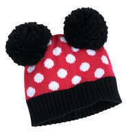 Image of Minnie Mouse Hat and Glove Set for Kids # 2