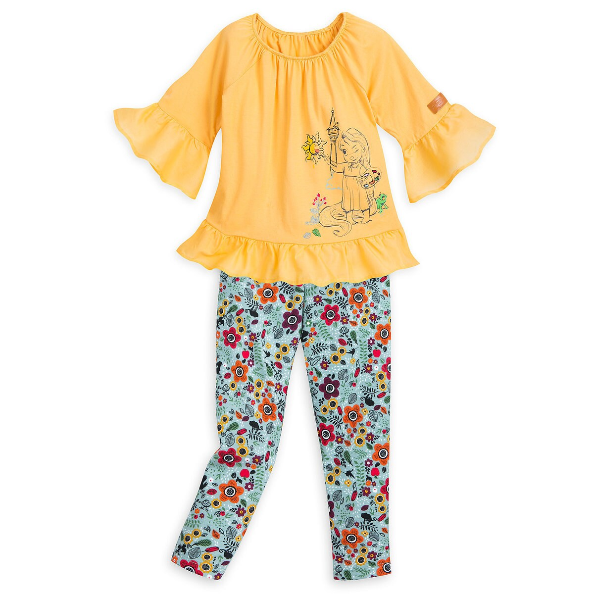 6adf11f84 Product Image of Disney Animators' Collection Tunic and Leggings Set for  Girls - Rapunzel #