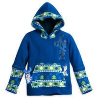 Olaf's Frozen Adventure Hooded Pullover for Boys