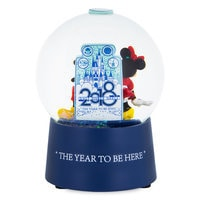 Mickey and Minnie Mouse Walt Disney World Snowglobe - 2018