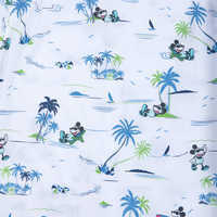 Image of Mickey Mouse Button Shirt for Men by Tommy Bahama - White # 5