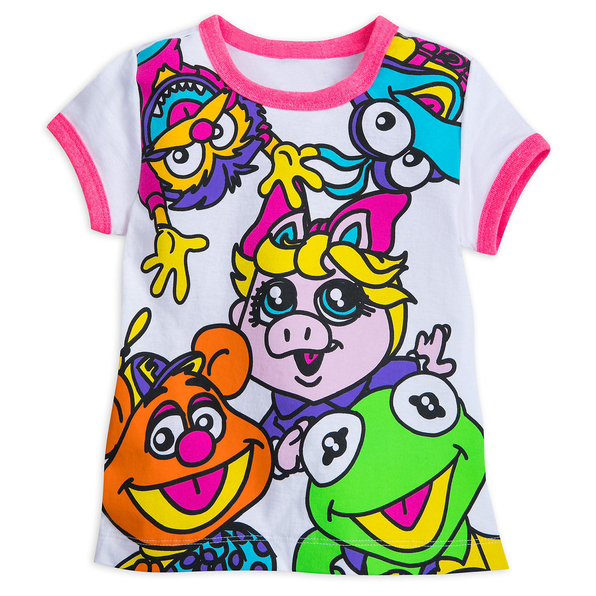 5ab783f82c04f Product Image of Muppet Babies Ringer T-Shirt for Girls   1