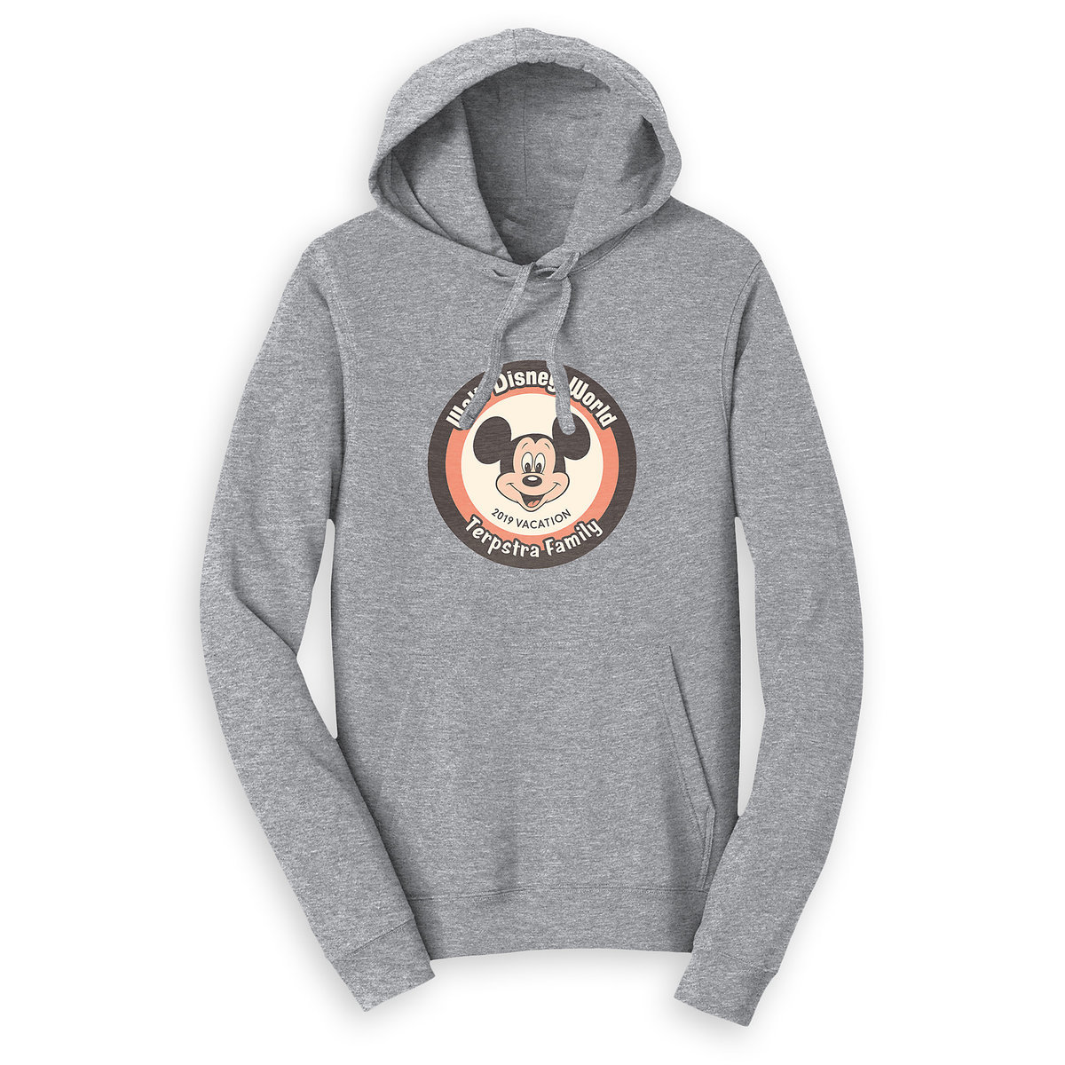 f82fd5829b23 Product Image of Mickey Mouse Family Vacation Pullover Hoodie for Adults -  Walt Disney World 2019