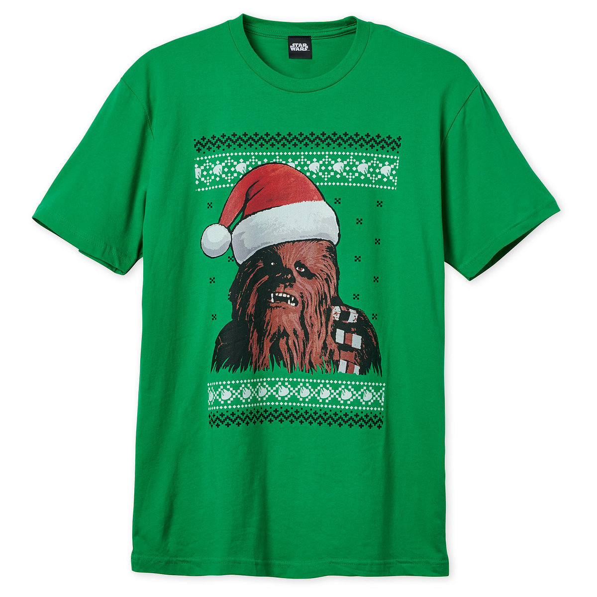 5943203599a5 Product Image of Chewbacca Holiday T-Shirt for Adults # 1
