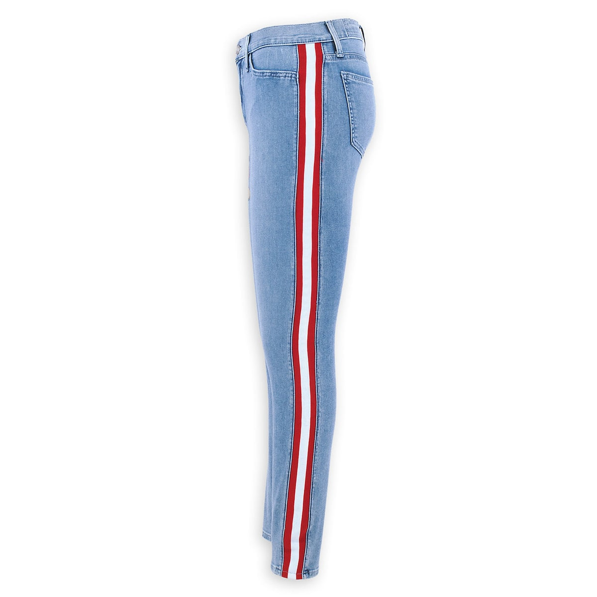 e8e3464323 Product Image of Mickey Mouse Tuxedo-Stripe Skinny Jeans by SIWY # 8
