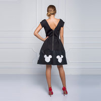 Image of Mickey Mouse Icon Dress for Women by Sugarbird # 4