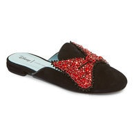 Image of Minnie Mouse Bow Mules for Women by Chiara Ferragni - Black # 2