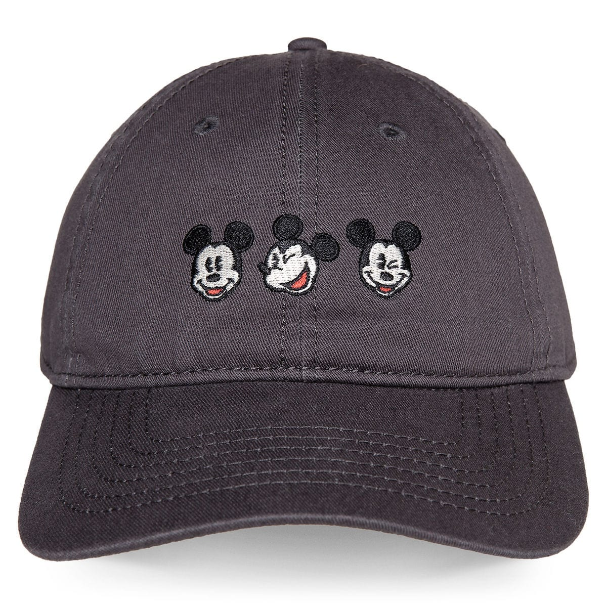 0d904b91eb7 Product Image of Mickey Mouse Embroidered Baseball Cap for Adults   1