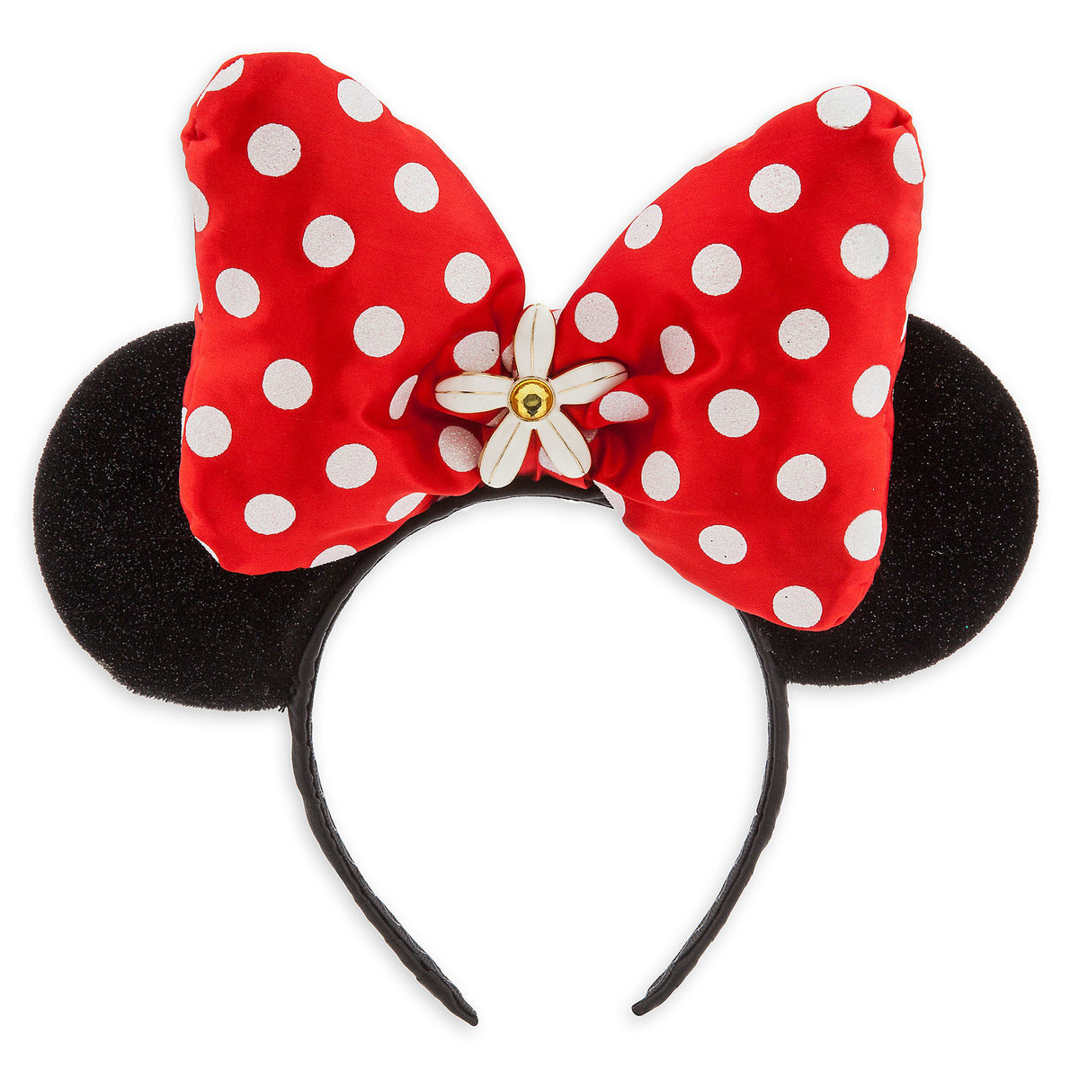 a92c8faf967 Product Image of Minnie Mouse Ear Headband - Red Bow   1